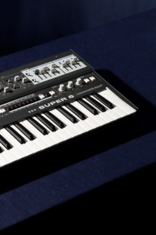 Released in 2020 the Super 6 synthesizer is our first instrument, with more products launching soon.